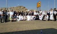 Umrecilerle birlikte Arafattayız
